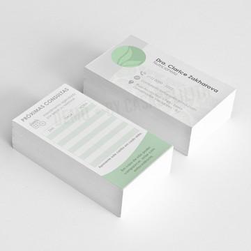 (ARTE) Cartão de Consulta, Cartão de Visita