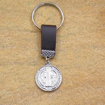 Chaveiro medalha de São Bento acessorios