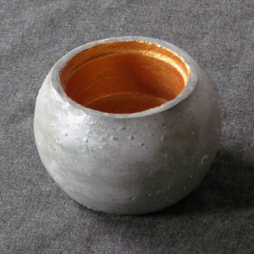 1 Pote de concreto liso