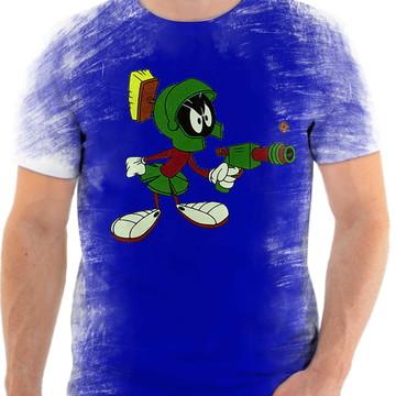 Camisa Camiseta Personalizada Desenho Marvin O Marciano 3