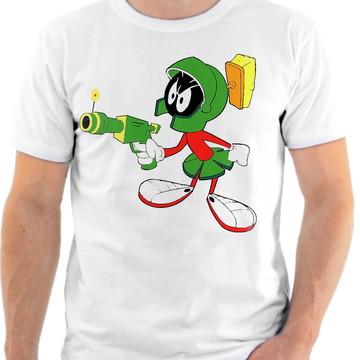 Camisa Camiseta Personalizada Desenho Marvin O Marciano 4