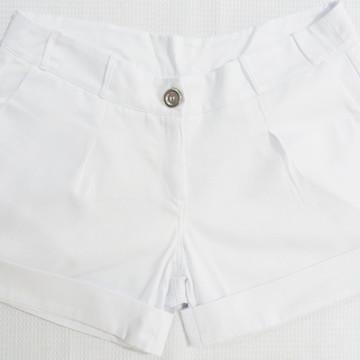 Short Branco Feminino