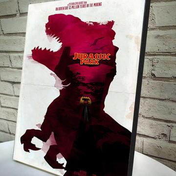 Poster / Quadro Jurassic Park