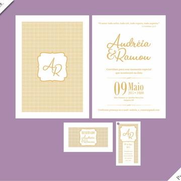 Pure Gold Special - Identidade Visual de Casamento