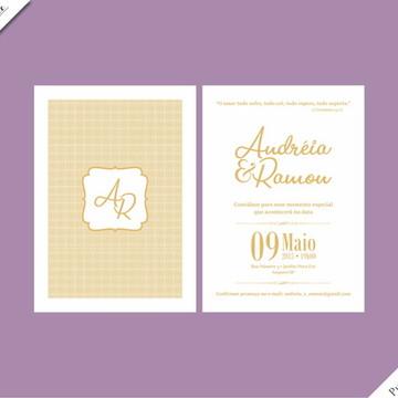 Pure Gold Standard - Identidade Visual de Casamento