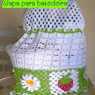 Conjunto para cozinha em crochê