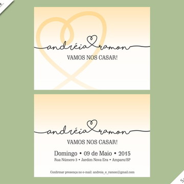Santorini Standard - Identidade Visual de Casamento