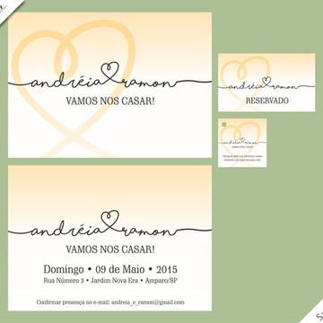 Santorini Special - Identidade Visual de Casamento