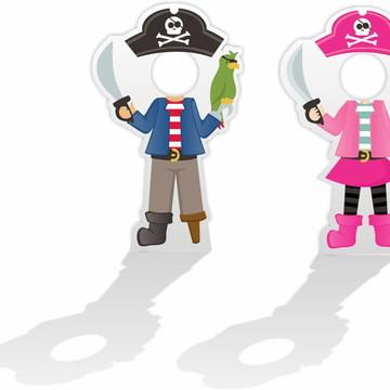 Display para tirar foto em pvc Pirata