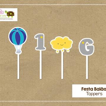 Topper Festa Balão