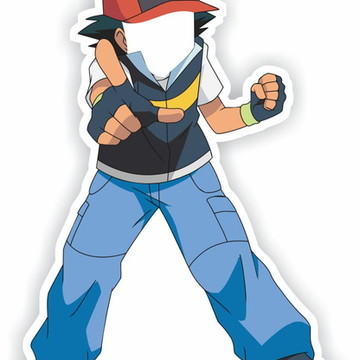 Display para tirar foto Pokemon