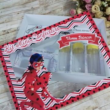 Arquivo digital Silhouette - Kit confeiteiro Lady Bug