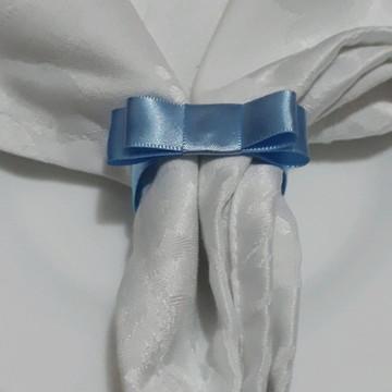 300 uni. Porta Guardanapo Laço Chanel de Cetim