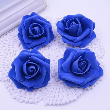 Flor Artificial Azul Royal