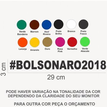 10 Adesivos Bolsonaro #bolsonaro2018 29x3
