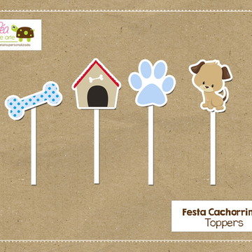 Topper Festa Cachorrinho