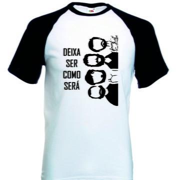 Camiseta Raglan Manga Curta Los Hermanos