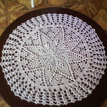 toalha de crochê
