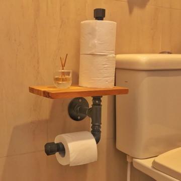 Dispenser Porta Papel Higiênico   Extra 2   Decor Industrial