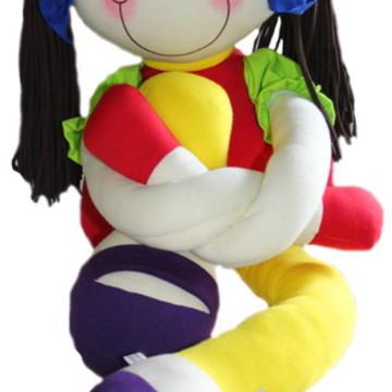 boneca de pano Ana Julia