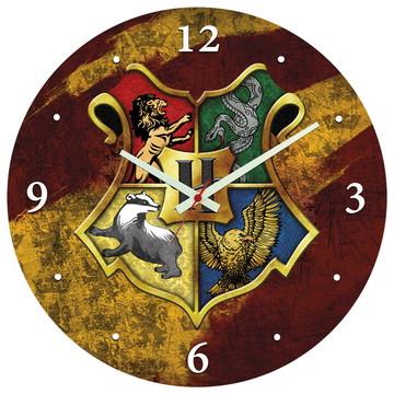 Relógio de Parede   Harry Potter - Brasão de Hogwarts