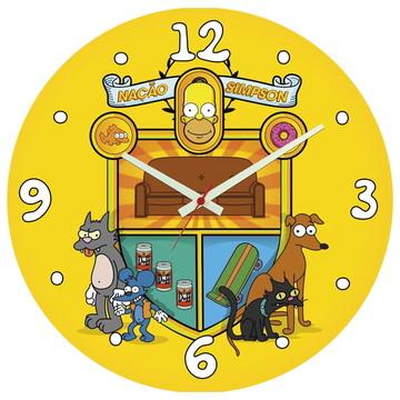 Relógio de Parede | Nação Simpsons