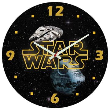 Relógio de Parede   Star Wars Estrela da Morte Millenium