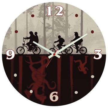 Relógio de Parede   Stranger Things Upside Mundo Invertido