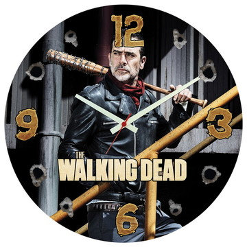 Relógio de Parede   Walking Dead Negan Zumbi