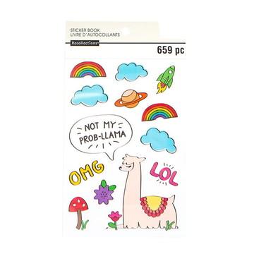 Livro de adesivo Recollections - AD00458c
