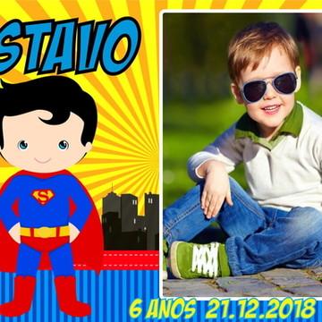 FOTO LEMBRANÇA SUPER MAN/ SUPER HOMEM