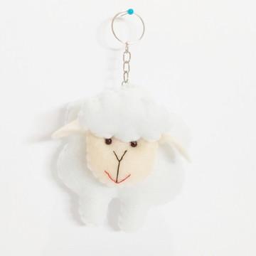 Chaveiro de Ovelha em feltro - Pequeno Príncipe