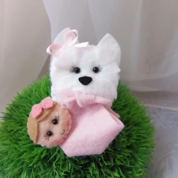 Lembrancinha West Terrier bebe
