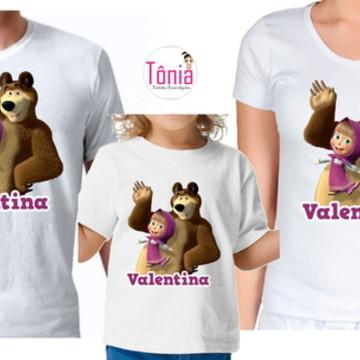 Kit família - Marsha e o urso (5 peças)