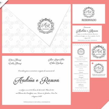 Veneza Luxo - Identidade Visual de Casamento