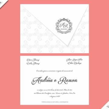 Veneza Standard - Identidade Visual de Casamento