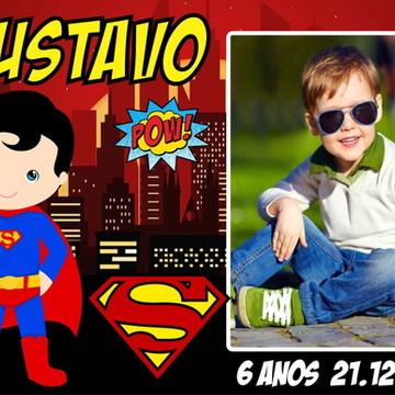 LEMBRANCINHA IMÃ DE GELADEIRA SUPER MAN/ SUPER HOMEM