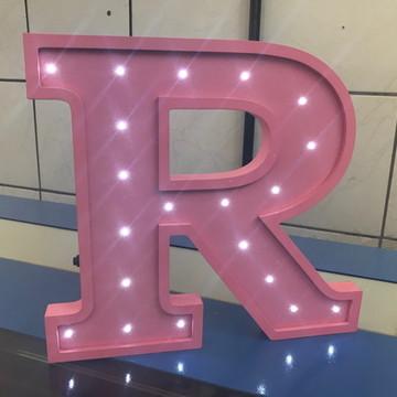 Letra Decorativa Luminária Quarto Infantil LED