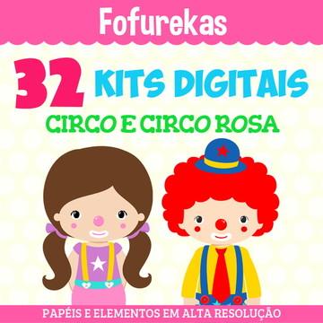 Kit Digital Pacote - Circo e Circo Rosa