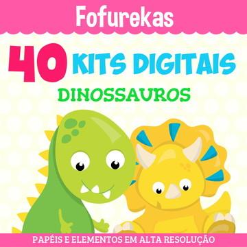 Kit Digital Pacote - Dinossauros