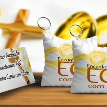 Chaveiro Almofada Personalizado Tema ECC