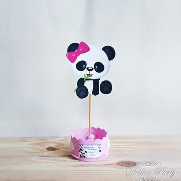 Enfeite de mesa Panda
