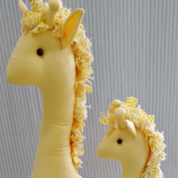 Girafinhas de tecido