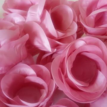 Forminha de tecido Rosa