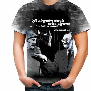 Camisa Camiseta Personalizada Romanos 13