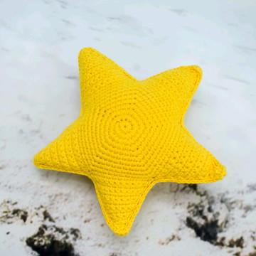 Amigurumi estrela do mar