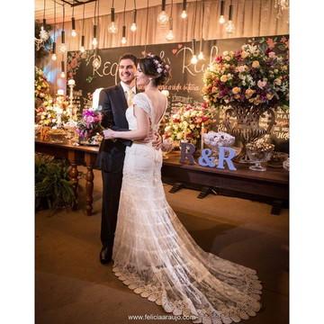 Vestido de noiva boho chic, Veneza Personalizado