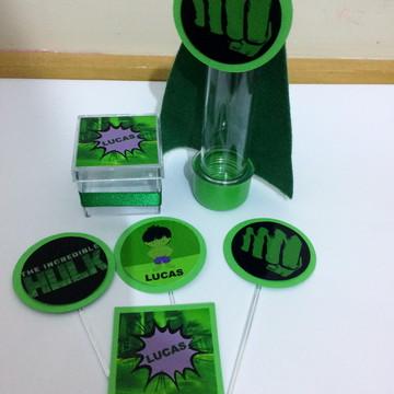 Kit Personalizado Vingadores - HULK