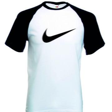 Camiseta Raglan Manga Curta Nike