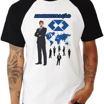 Camiseta Masculina Universitária Administração